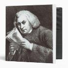 Samuel Johnson 3 Ring Binder