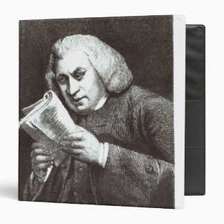 Samuel Johnson 3 Ring Binder