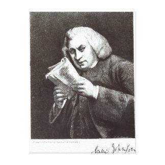 Samuel Johnson Canvas Print