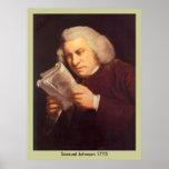 Samuel Johnson - lectura Poster