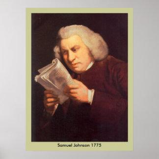 Samuel Johnson - lectura Póster