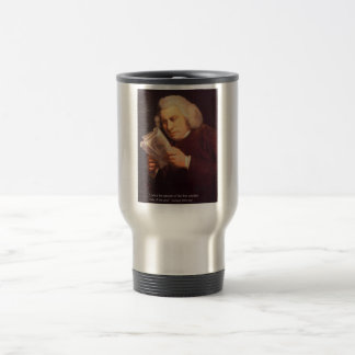 Samuel Johnson Love Is Wisdom Gifts Cards Etc Travel Mug