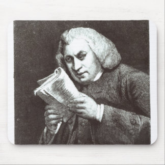 Samuel Johnson Mouse Pad