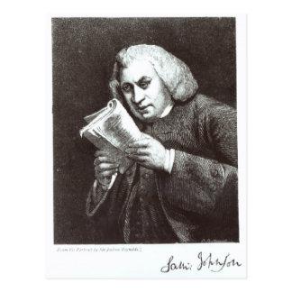 Samuel Johnson Postales