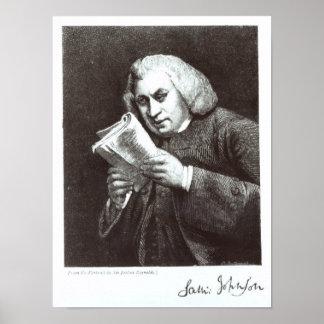 Samuel Johnson Poster