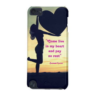 Samuel Lover quote heart love inspiration iPod Touch (5th Generation) Covers