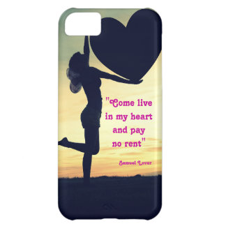 Samuel Lover quote heart love inspiration iPhone 5C Cover