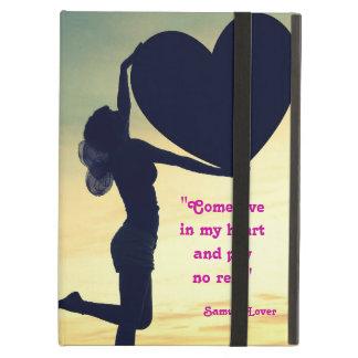 Samuel Lover quote heart love inspiration iPad Folio Case
