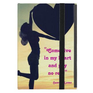 Samuel Lover quote heart love inspiration iPad Mini Covers