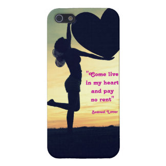 Samuel Lover quote heart love inspiration Cover For iPhone 5