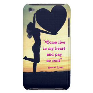 Samuel Lover quote heart love inspiration iPod Touch Case