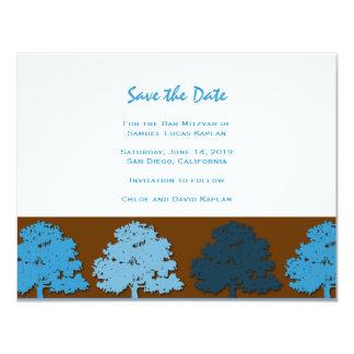 Samuel Lucas Bar Mitzvah Save the Date Card