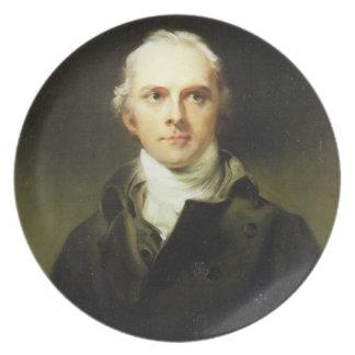 Samuel Lysons (1763-1819) 1799 (oil on canvas) Dinner Plate