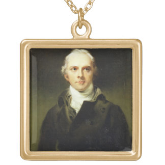 Samuel Lysons (1763-1819) 1799 (oil on canvas) Gold Plated Necklace