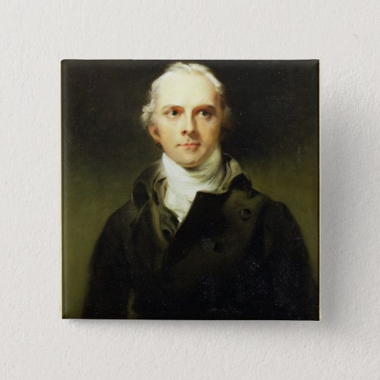 Samuel Lysons (1763-1819) 1799 (oil on canvas) Pinback Button