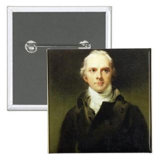 Samuel Lysons (1763-1819) 1799 (oil on canvas) Pinback Button