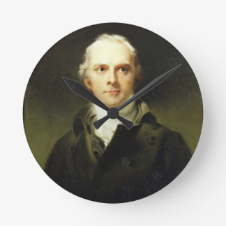 Samuel Lysons (1763-1819) 1799 (oil on canvas) Round Clock