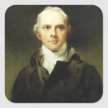 Samuel Lysons (1763-1819) 1799 (oil on canvas) Square Sticker