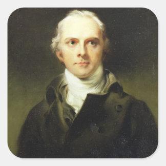 Samuel Lysons (1763-1819) 1799 (oil on canvas) Square Sticker