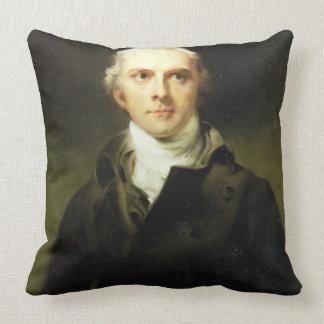 Samuel Lysons (1763-1819) 1799 (oil on canvas) Throw Pillow
