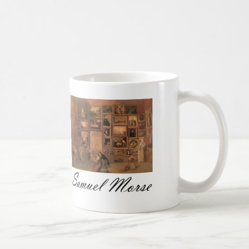 Samuel Morse Gallery of the Louvre Coffee Mug