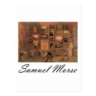 Samuel Morse Gallery of the Louvre Postcard