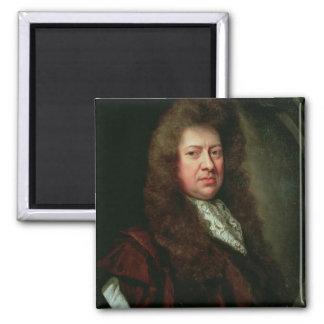 Samuel Pepys 2 2 Inch Square Magnet