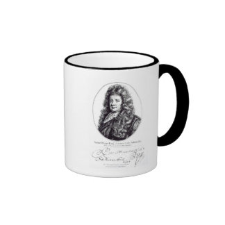 Samuel Pepys Ringer Coffee Mug