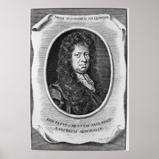 Samuel Pepys Póster