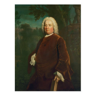 Samuel Richardson, 1747 Postcard