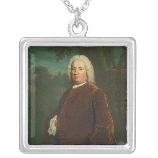 Samuel Richardson, 1747 Silver Plated Necklace