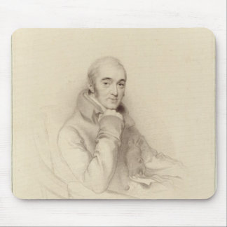 Samuel Rogers, engraved by William Finden Mouse Pad