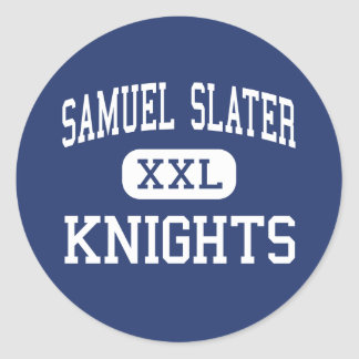 Samuel Slater - Knights - Junior - Pawtucket Round Stickers