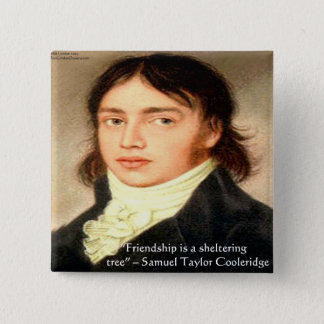 "Samuel T Cooldridge ""Sheltering Tree"" Wisdom Quote Button"