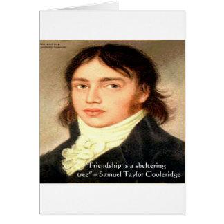 "Samuel T Cooldridge ""Sheltering Tree"" Wisdom Quote Card"