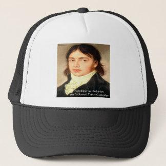 "Samuel T Cooldridge ""Sheltering Tree"" Wisdom Quote Trucker Hat"