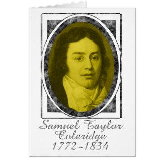 Samuel Taylor Coleridge Card