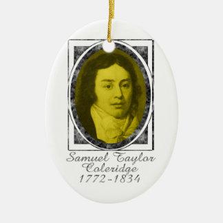 Samuel Taylor Coleridge Ceramic Ornament