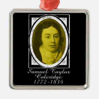 Samuel Taylor Coleridge Metal Ornament