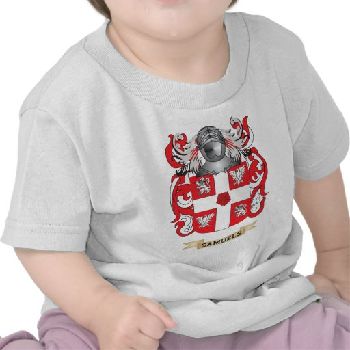 Samuels Coat of Arms (Family Crest) T Shirts