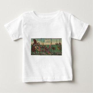 Samura, Horse, Boats, and Tiger circa 1800s Baby T-Shirt