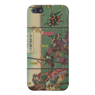 Samura, Horse, Boats, and Tiger circa 1800s Cases For iPhone 5