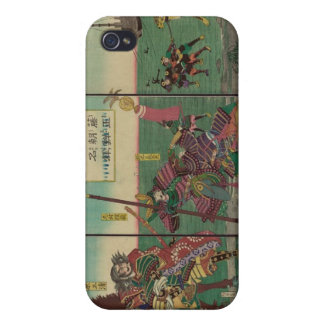 Samura, Horse, Boats, and Tiger circa 1800s iPhone 4/4S Cases