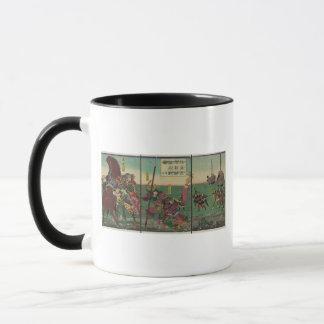Samura, Horse, Boats, and Tiger circa 1800s Mug