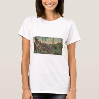 Samura, Horse, Boats, and Tiger circa 1800s T-Shirt