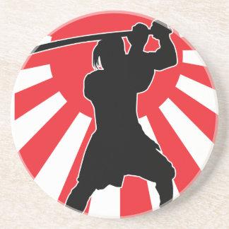 Samurai 2 beverage coaster