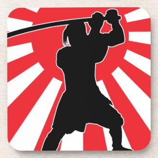 Samurai 2 beverage coasters