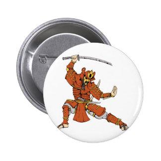 Samurai 4 ~ Ninjas Martial Arts Warrior Fantasy Pins