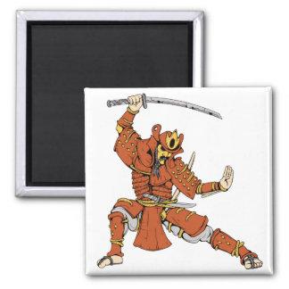 Samurai 4 ~ Ninjas Martial Arts Warrior Fantasy Magnets