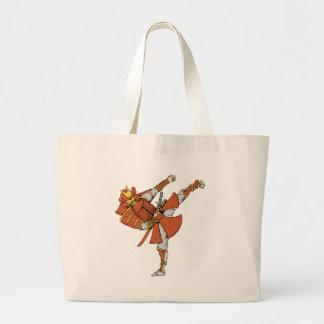 Samurai 5 ~ Ninjas Martial Arts Warrior Fantasy Canvas Bag
